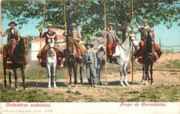 COSTUMBRES ANDALUZAS - Grupo De Garrochistas. - Espagne
