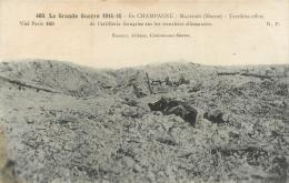 Guerre 14-18, Massiges, Terribles Effets De L'artillerie Française, Cadavres..., Voir Correspondance Du Poilu - Oorlog 1914-18
