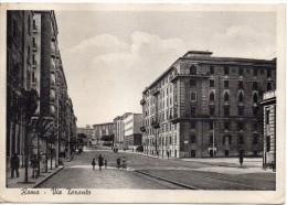 Lazio-roma Quartiere S.giovanni' Veduta Via Taranto Anni 40 - Autres