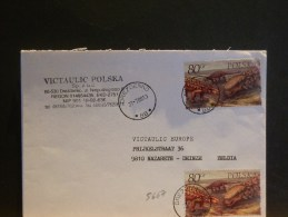 A 5667         LETTRE  POLOGNE - Briefmarken