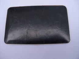 Ancien étui A Cigarettes Cuir Et Plaqué Or (?) COLIBRI Made In England - Empty Cigarettes Boxes