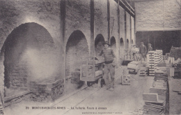 Montchanin Les Mines - La Tuilerie, Fours à émaux (animation) Circulé 1918, Sous Enveloppe - Frankreich