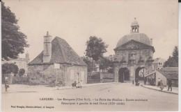 Langres Les Remparts La Porte De Moulins  , 2 Scan - Langres