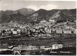 Campania-salerno Veduta Panoramica Stazione Ferroviaria E Scalo Ferroviario Anni 50/60 - Salerno