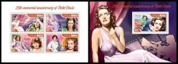 MALDIVES 2014 - Bette Davis - YT 4237-40 + BF659; CV = 29 € - Film