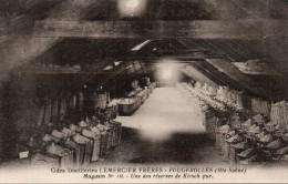 70 - FOUGEROLLES Grandes Distilleries Lemercier Frères Magasin N°10 - Une Des Réserves De Kirsch Pur - France