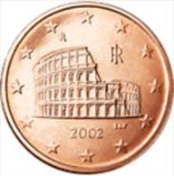Italie 2004     5 Cent   UNC Uit De Rol  UNC Du Rouleaux  !! - Italie
