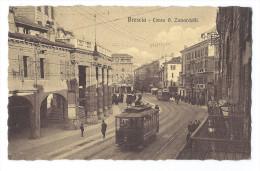 BRESCIA (Italie) - Corso Giuseppe Zanardelli - Cours G. Zanardelli - Animée - Tramways - Brescia