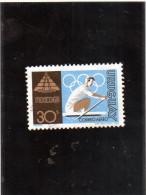 1968 Uruguay - Olimpiadi Di Mexico City - Canottaggio