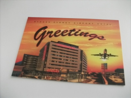 RYDGES SYDNEY AIRPORT HOTEL  GREETINGS AEREO AUSTRALIA