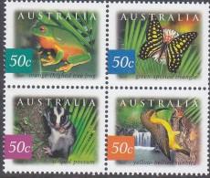AUSTRALIA, 2003 WILDLIFE BLOCK 4 MNH - 2000-09 Elizabeth II