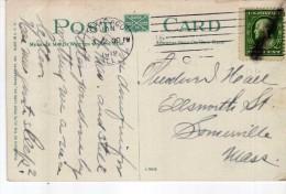 2953   Postal Estados Unidos, Usa   Chicago  1912 - Verenigde Staten