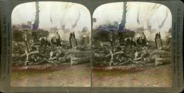 STEREO La Guerre Russo-japonaise STEREO La Guerre Russo-japonaise  Tirage Argentique   8,5x17   Circa 1900 - Guerre, Militaire