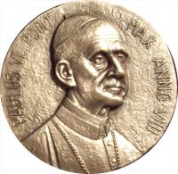 VATICANO. PABLO VI. MEDALLA DEL IX AÑO DE PONTIFICADO. 1.971. PLATA. CON ESTUCHE ORIGINAL - Monarquía / Nobleza