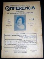 CONFERENCIA. 1927. 14. BONNARD. VACARESCO. GASQUET. REVAL. DELARUE-MARDRUS - 1900 - 1949