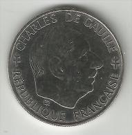 1 FRANC DE GAULLE COMMEMORATIVE 1988  TTB+++ - Commémoratives