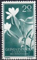 Guinea Espagnol 1956 Michel 325 Neuf ** Cote (2002) 0.20 Euro Orchidée Angraecum Distichum - Guinea Espagnole
