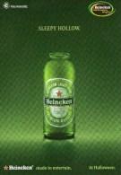 A 3692 -  Bevande, Birra Heineken - Publicité