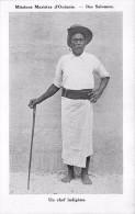 ¤¤  -   ILE SALOMON   -  Un Chef Indigène    -  ¤¤ - Solomon Islands