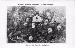 ¤¤  -   ILE SALOMON   -  Un Cimetière Indigène    -  ¤¤ - Solomon Islands