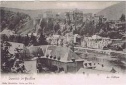 Cpa  SOUVENIR DE BOUILLON  LE CHATEAU - Bouillon
