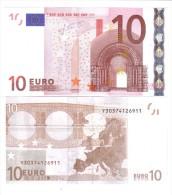 10 €  GRECIA Y Trichet N021 FDS UNC Cod.€.069 - EURO