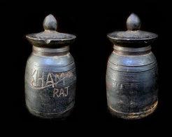 Ancien Joli Pot à Lait NEPAL Signé / Old Yack Milkpot From Nepal - Art Populaire
