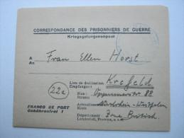 1947, Camp Toulon   La Velette   , Prisonner De Guerre, Lettre    Allemagne - Marcophilie (Lettres)
