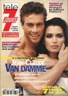 Télé 7 Jours N° 1887 - Semaine Du 27 Juil Au 2 Août 1996 - Van Damme, Pierre Mondy, Elie Kakou, Agnès Soral, Les Yé-yé - 1950 - Nu