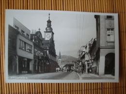 Fotokarte Hohenelbe, Vrchlabí, Strassenansicht, Ungelaufen ! - Sudeten