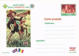 SCOUTING JAMBOREE, SCOUTS, POSTCARD, LUXURY EDITION, 2000, ROMANIA. - Scoutisme