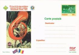 SCOUTING JAMBOREE, SINGER SCOUT, POSTCARD, LUXURY EDITION, 2000, ROMANIA. - Scoutisme