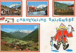 A 3710 -  Carnevale Dalignese - Spettacolo