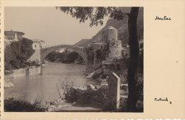 Bosnie-Herzégovine - Mostar - Carte-Photo - Pont - Bosnie-Herzegovine