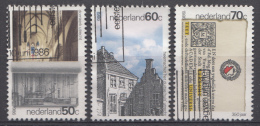 Pays-Bas 1986 Mi.nr.:1294-1296 Utrecht  Oblitérés / Used / Gestempeld - Gebruikt