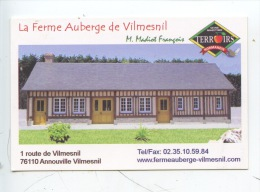 Annouville Vilmesnil : La Ferme Auberge De Vilmesnil Entre Goderville Et Valmont (terroir) - France