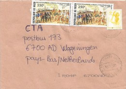 Niger 2007 Niamey French Revolution Official 15f Cover - Niger (1960-...)