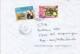 Niger 2001 Niamey Dakar Ralley Moto-bike Parrot Cover - Niger (1960-...)
