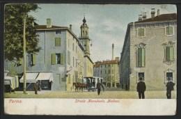 PARMA - STRADA MACEDONIO, MELLONI - COULEURS - Parma