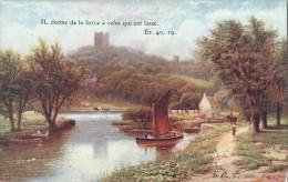 ANGLETERRE - Consero Castle - CPA - Yorkshire - Happy England Série III - OILETTE - Angleterre