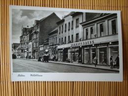 Hilden, Mittelstrasse, Gelaufen 1959 ! - Hilden