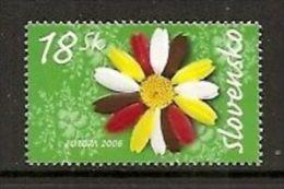 ESLOVAQUIA / SLOVENSKO AÑO 2006 YVERT Nº 462 ** MNH Sellos Nuevos Sin Fijasellos - EUROPA - LA INTEGRACION - Eslovaquia