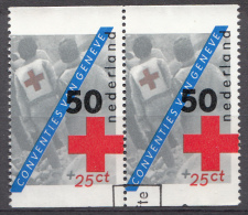 Pays-Bas 1983  Mi.nr.:1236 A+A  Rotes Kreuz  Oblitérés / Used / Gestempeld - Gebruikt