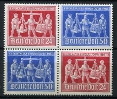 32555) ALL. BESETZUNG Zusammendruck # VZd 1 Postfrisch Aus 1948, 50.- € - Gemeinschaftsausgaben
