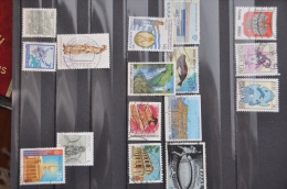 Bo 1 - 23 ++ LOT GESTEMPELD USED SEE SCAN. - Timbres