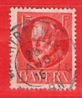 MiNr.115 A  O Altdeutschland Bayern - Bayern