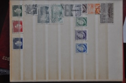 Bo 2 - 09 ++ LOT GESTEMPELD USED SEE SCAN. - Postzegels