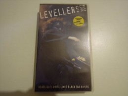 Levellers - Best Live - Headlights White Lines Black Tar Rivers - Warner 0630 15407 3 - Video Tapes (VHS)