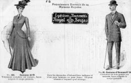 EGERTON  BURNETT , LTD  A  WELLINGTON - Angleterre  -costumes Pour Homme Ou Dame , Bonneterie - Advertising