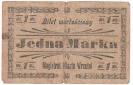 Poland / Poland Magistrate City Vrezhna 1 Mark - Japan
